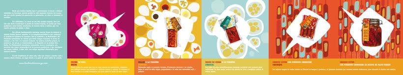 Brochure and label Lombera Embutidos 2
