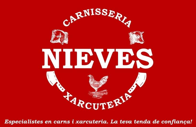 Imagen Corporativa Carnicería-Charcutería Nieves 1