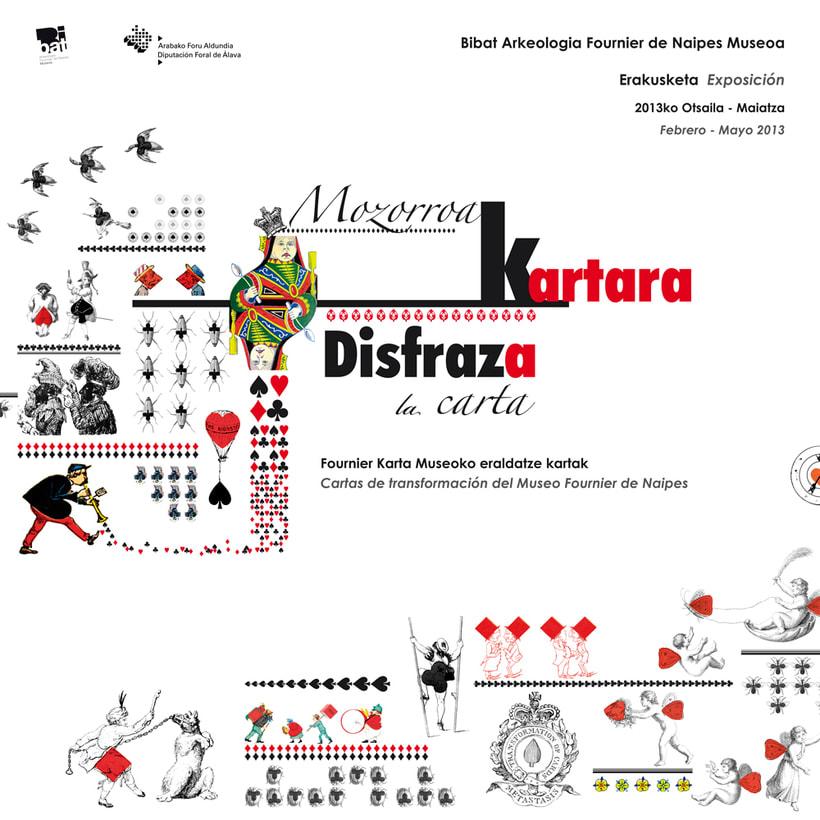 "Playcard exhibition ""Disfraz a la carta"", Museo Bibat, Vitoria - Gasteiz 14"