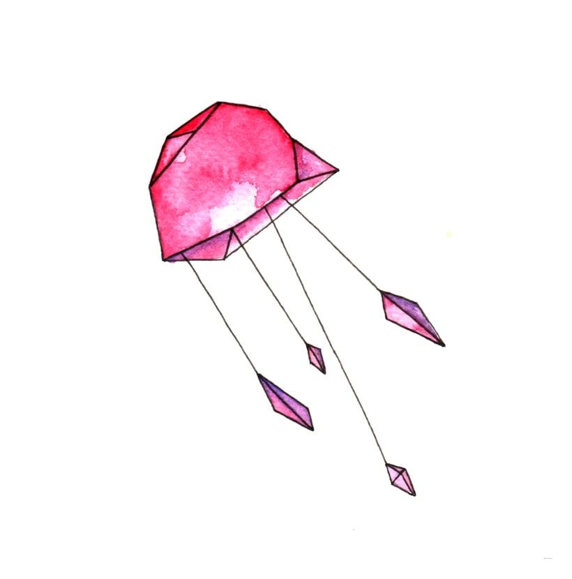 Jellyfish - serigrafía -1