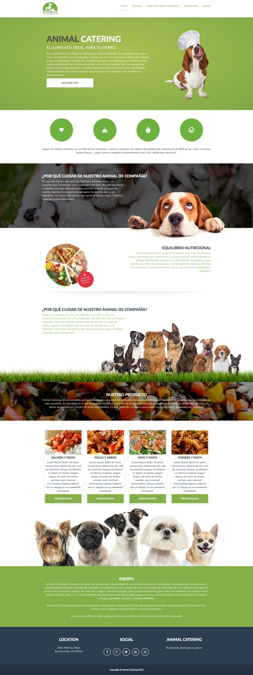 Microsite Animal Catering -1