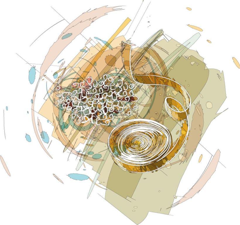 Ilustraciones para catálogo de barnices, pinturas, disolventes y adhesivos 8