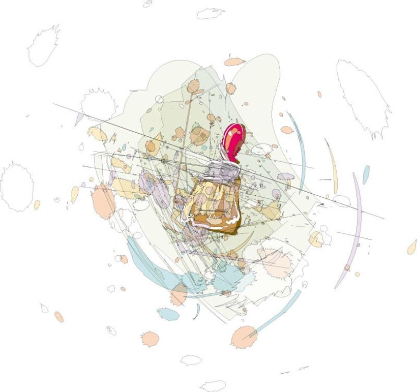 Ilustraciones para catálogo de barnices, pinturas, disolventes y adhesivos 4