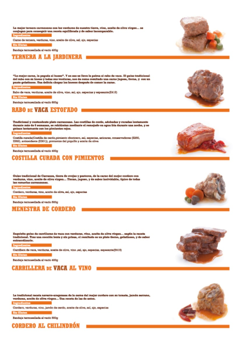 Cooking Products Catalogue Design 1