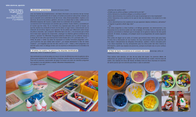 Design and layout of the AARE's project book 7