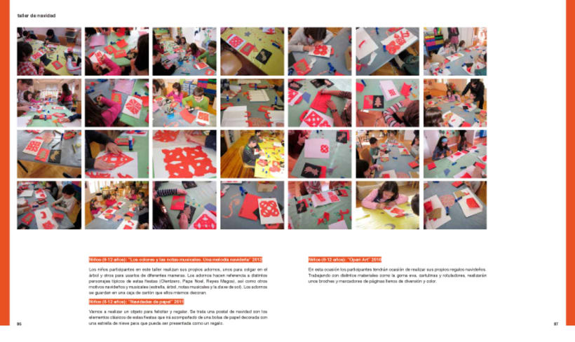 Design and layout of the AARE's project book 11