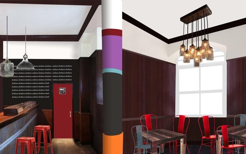 Proyecto de reforma, imagen y decoración Bar Laidatxu 0