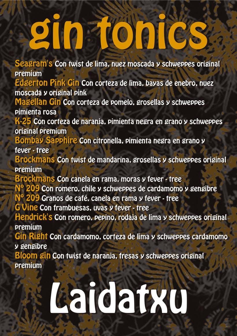 Proyecto de reforma, imagen y decoración Bar Laidatxu 5