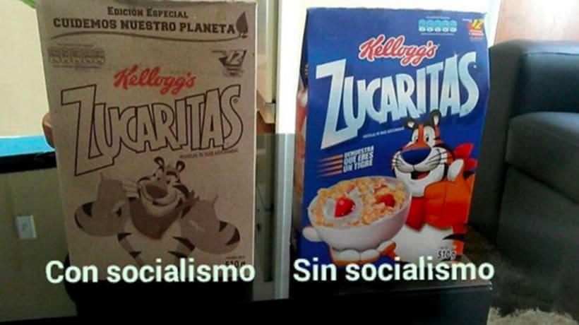 Controvertido packaging de Zucaritas en Venezuela 6