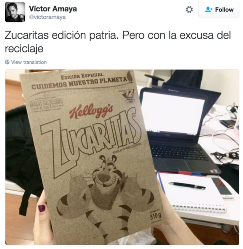 Controvertido packaging de Zucaritas en Venezuela 8