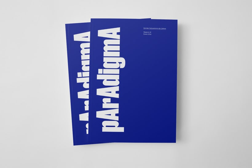 Paradigma. Revista Universitaria de Cultura  0