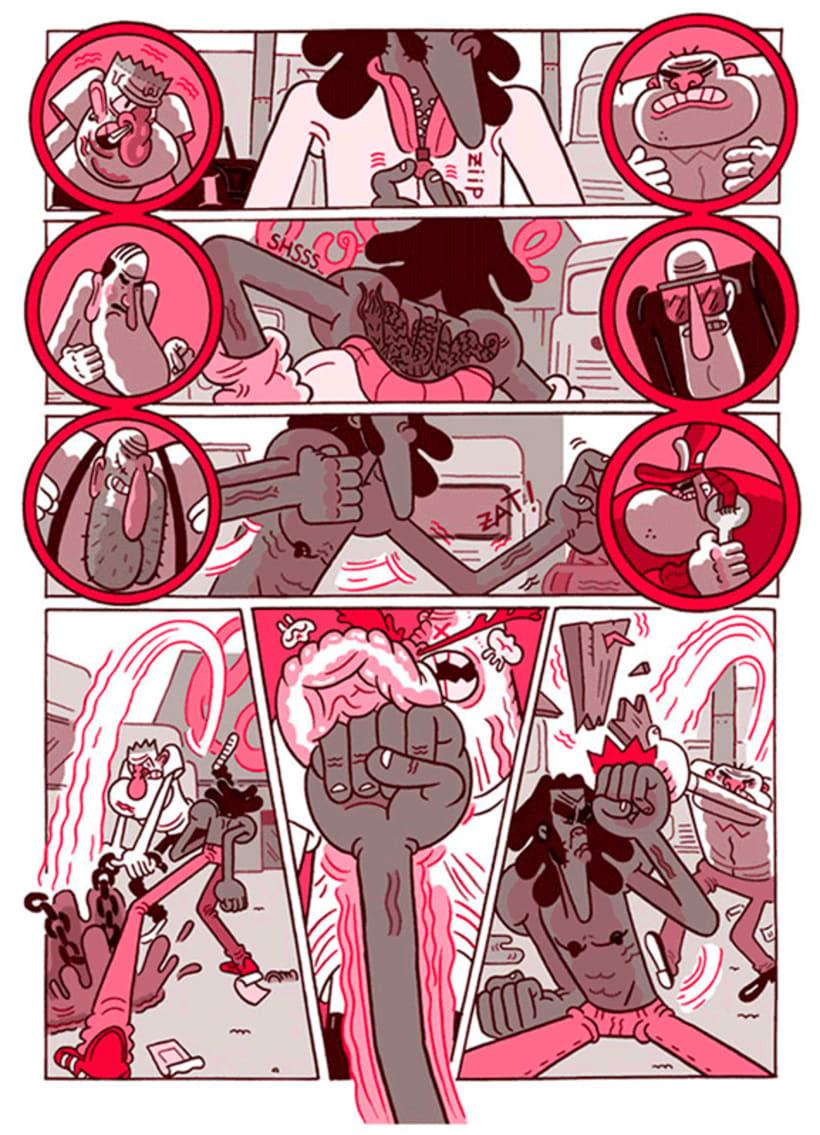 José Domingo y sus cómics de autor 6