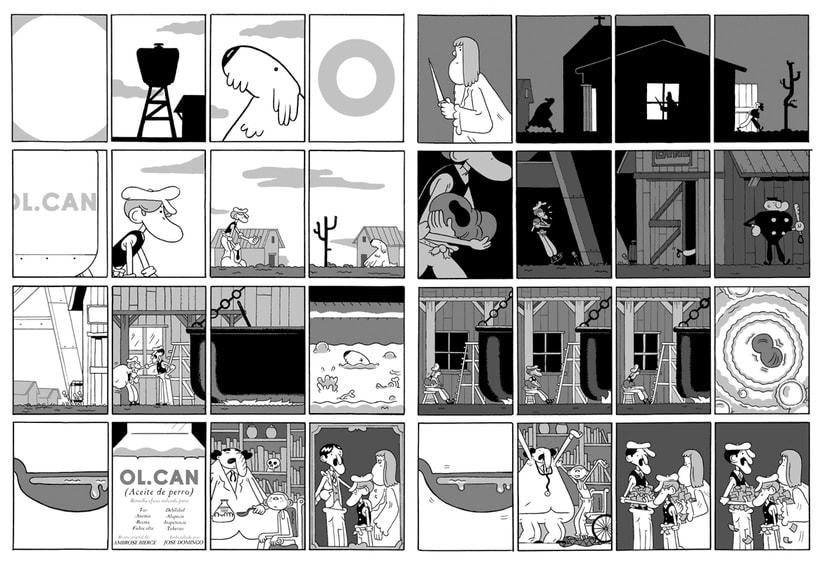 José Domingo y sus cómics de autor 8