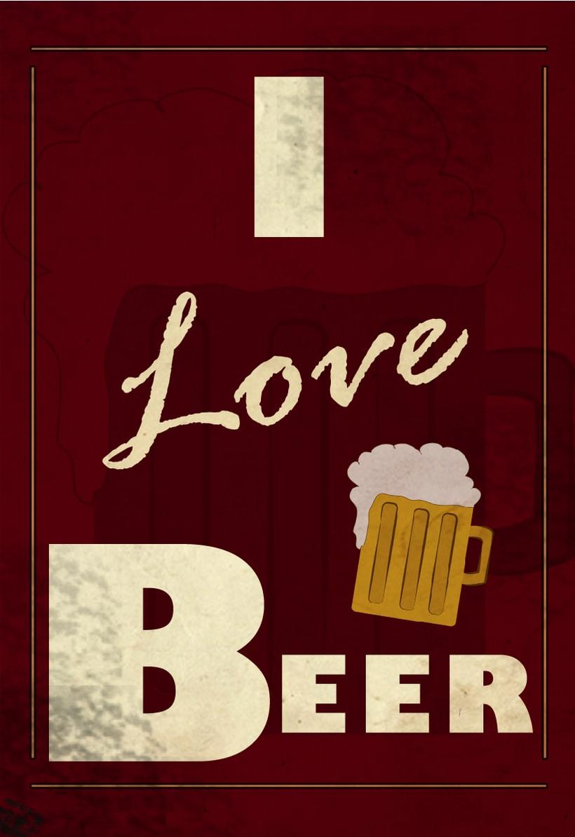 i love beer -1