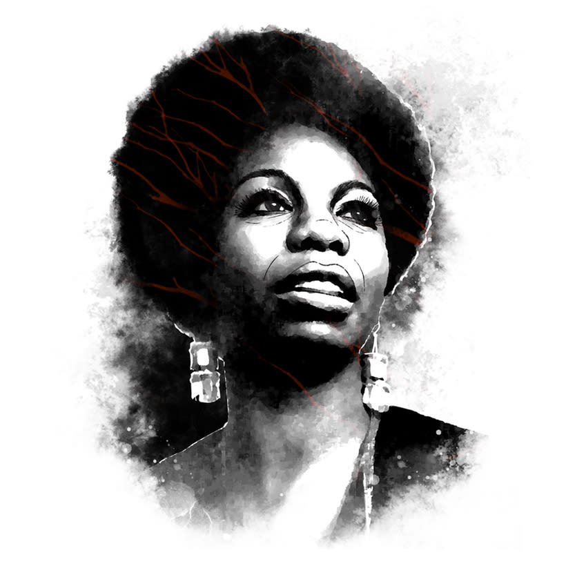 Yorokobu // Rock´n´Draw / Nina Simone 0