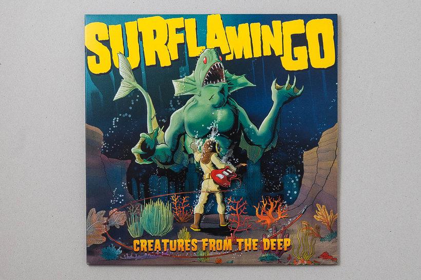 "SURFLAMINGO ""Creatures from the deep"" - vinilo LP 0"