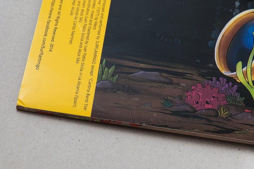 "SURFLAMINGO ""Creatures from the deep"" - vinilo LP 11"