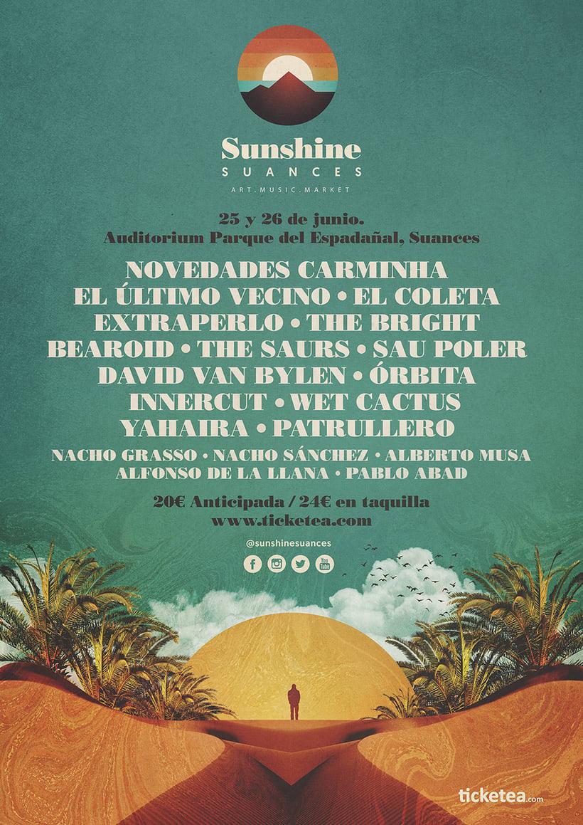 Identidad festival Sunshine Suances 3