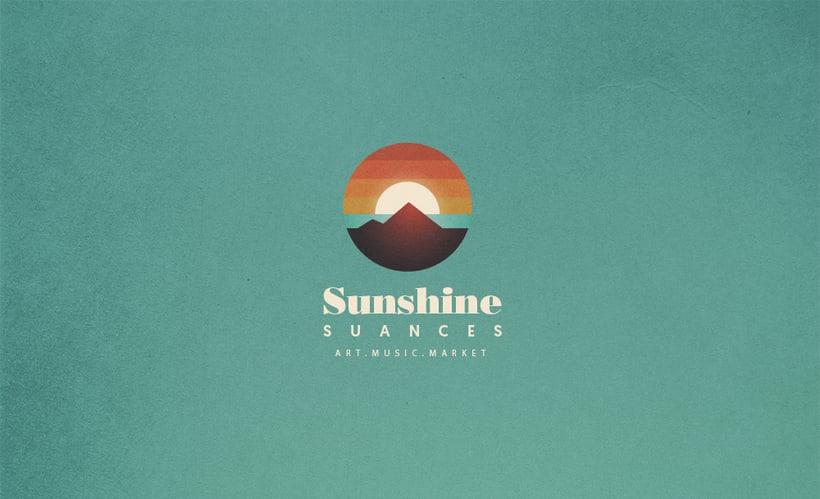 Identidad festival Sunshine Suances 0