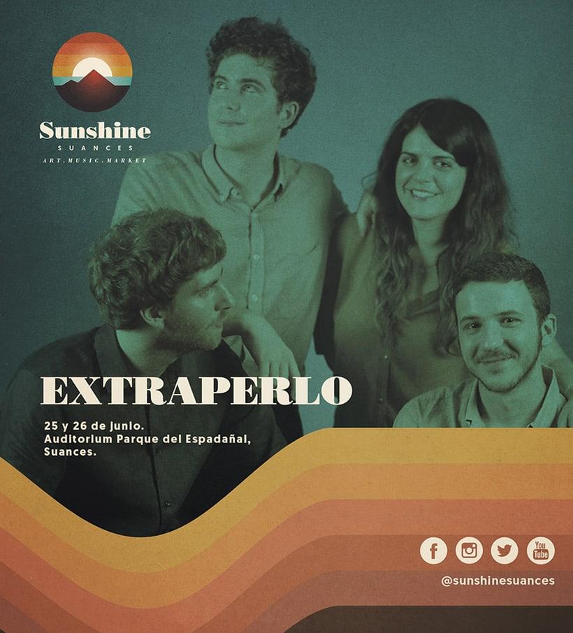 Identidad festival Sunshine Suances 5