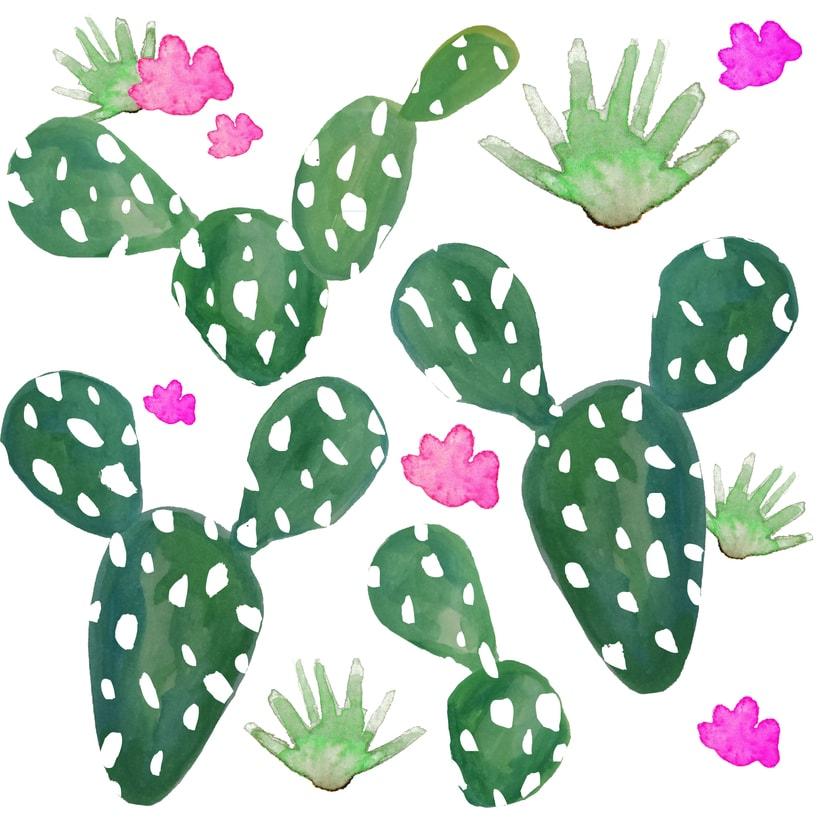 Cactus Pattern 1