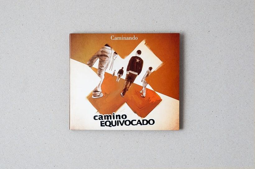 """CAMINO EQUIVOCADO """"Caminando"""" - CD digipack 0"""