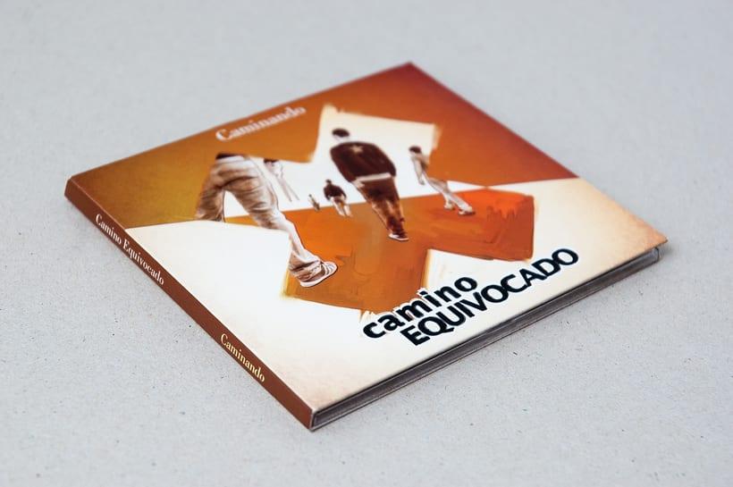"""CAMINO EQUIVOCADO """"Caminando"""" - CD digipack 2"""