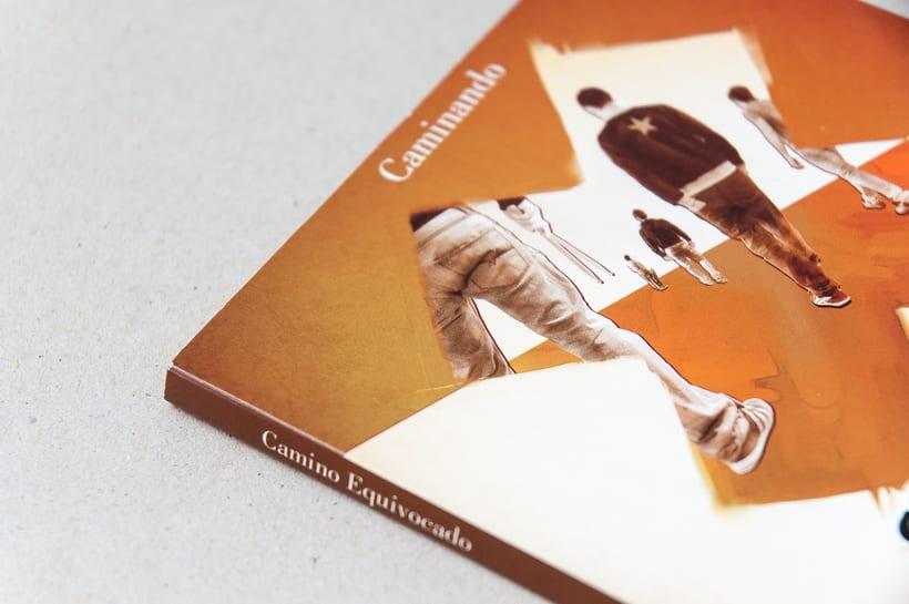 """CAMINO EQUIVOCADO """"Caminando"""" - CD digipack 3"""