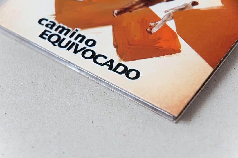 """CAMINO EQUIVOCADO """"Caminando"""" - CD digipack 5"""