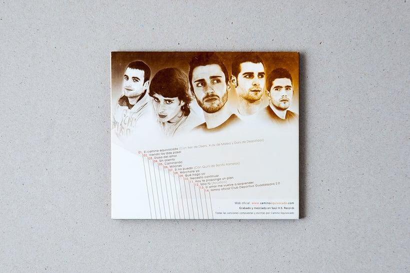 """CAMINO EQUIVOCADO """"Caminando"""" - CD digipack 6"""