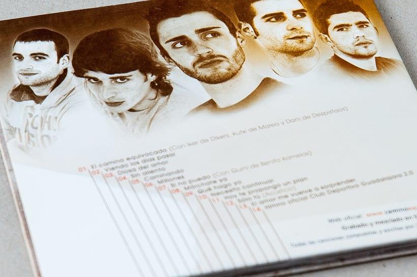 """CAMINO EQUIVOCADO """"Caminando"""" - CD digipack 7"""