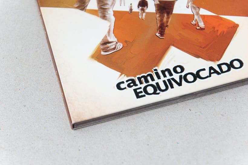 """CAMINO EQUIVOCADO """"Caminando"""" - CD digipack 4"""
