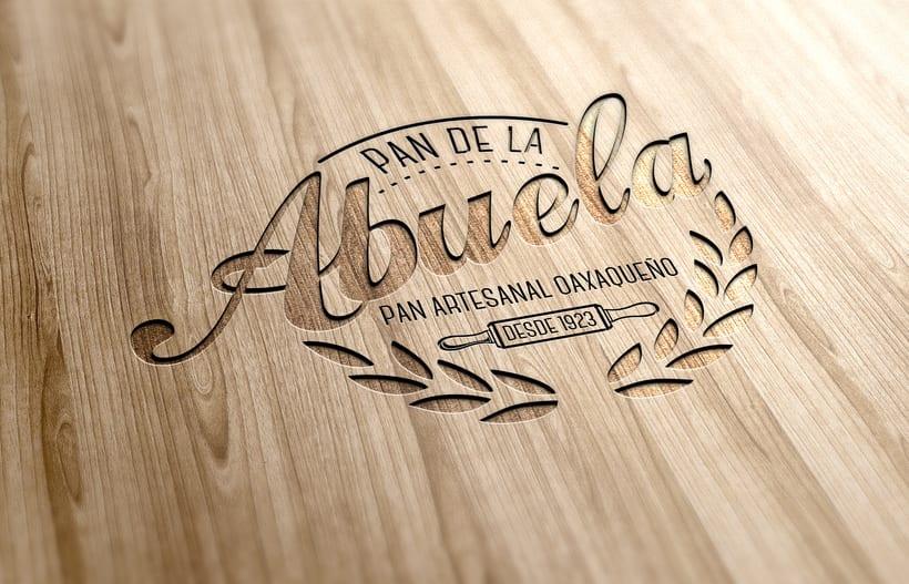 Identidad Pan de la Abuela - Oaxaca | México  1