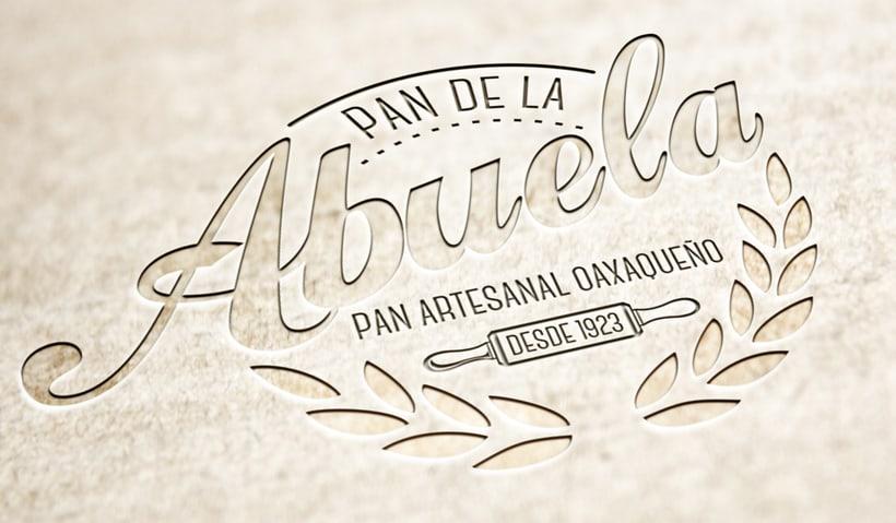Identidad Pan de la Abuela - Oaxaca | México  2