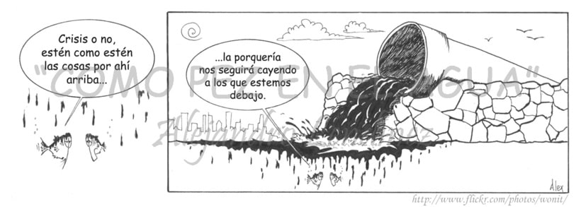 "Tira cómica: ""Como pez en el agua"" 24"