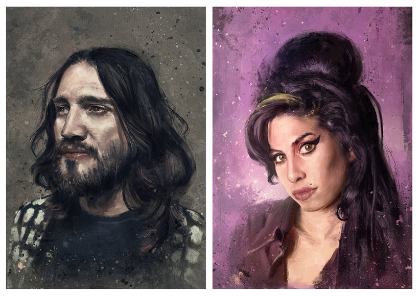 Retratos Música 9