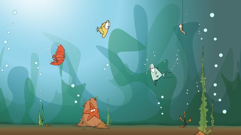 "Tira cómica: ""Como pez en el agua"" 0"
