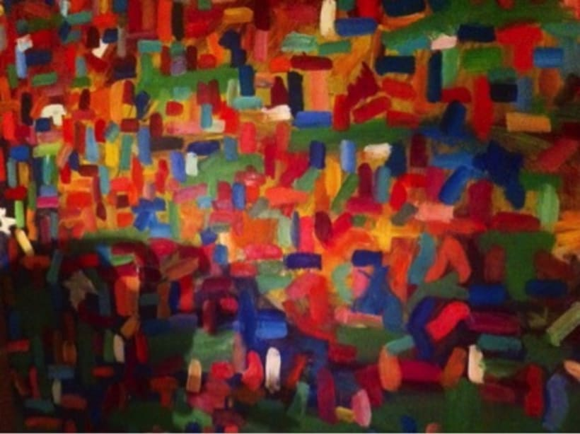 Pintura. Proyecto holi (primavera india) -1