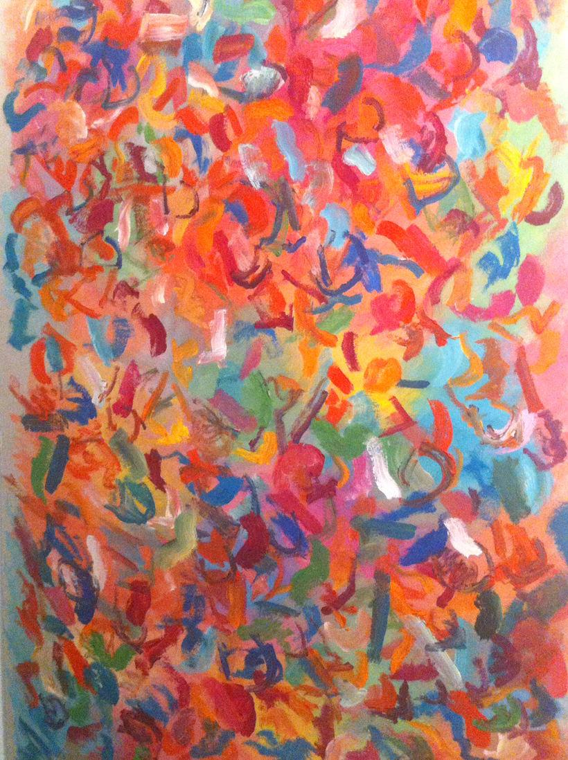 Pintura. Proyecto holi (primavera india) 0