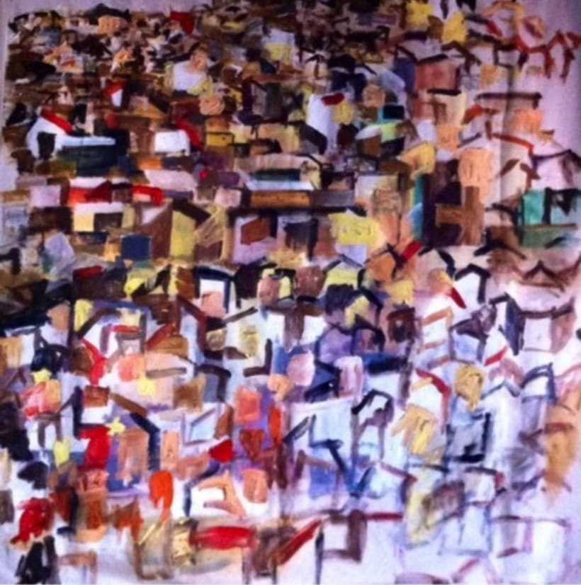 Pintura. Proyecto favelas.  -1