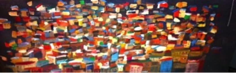 Pintura. Proyecto favelas.  1