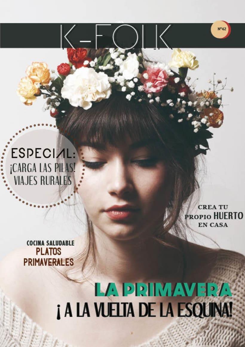 Diseño gráfico. Diseño editorial, revistas y flyers. 4