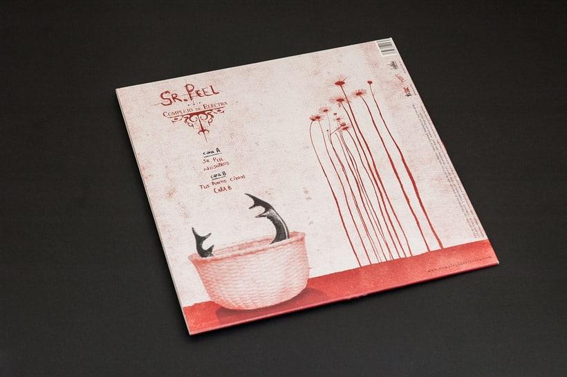 """COMPLEJO DE ELECTRA """"Sr. Peel"""" - EP vinilo 8"""