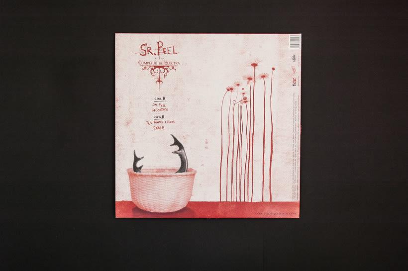"""COMPLEJO DE ELECTRA """"Sr. Peel"""" - EP vinilo 9"""