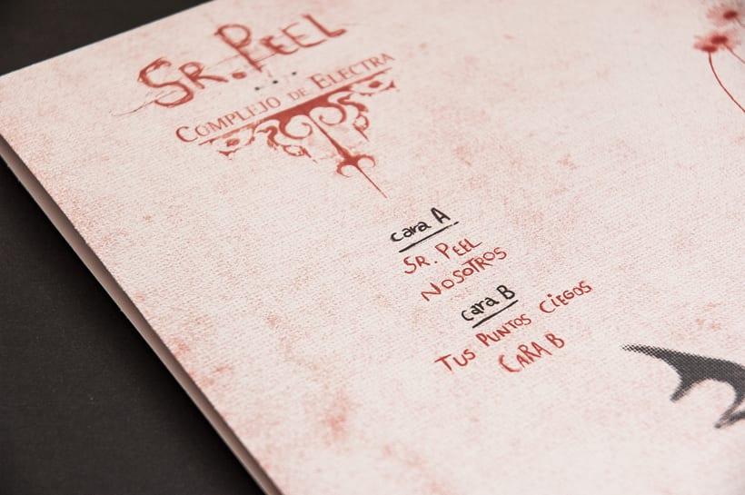 """COMPLEJO DE ELECTRA """"Sr. Peel"""" - EP vinilo 10"""