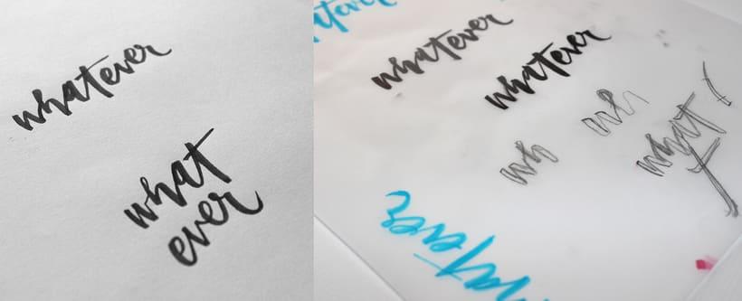 whatever brush lettering 4