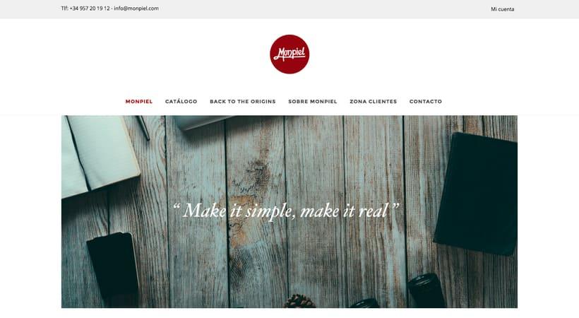 Monpiel - Web Design -1