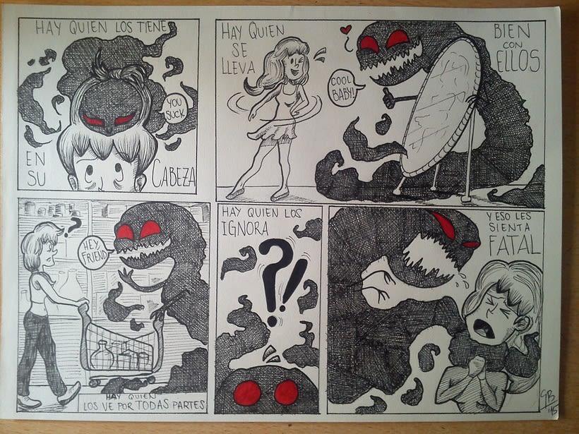 "Proyecto: Cómic ""Monstruos"" 0"