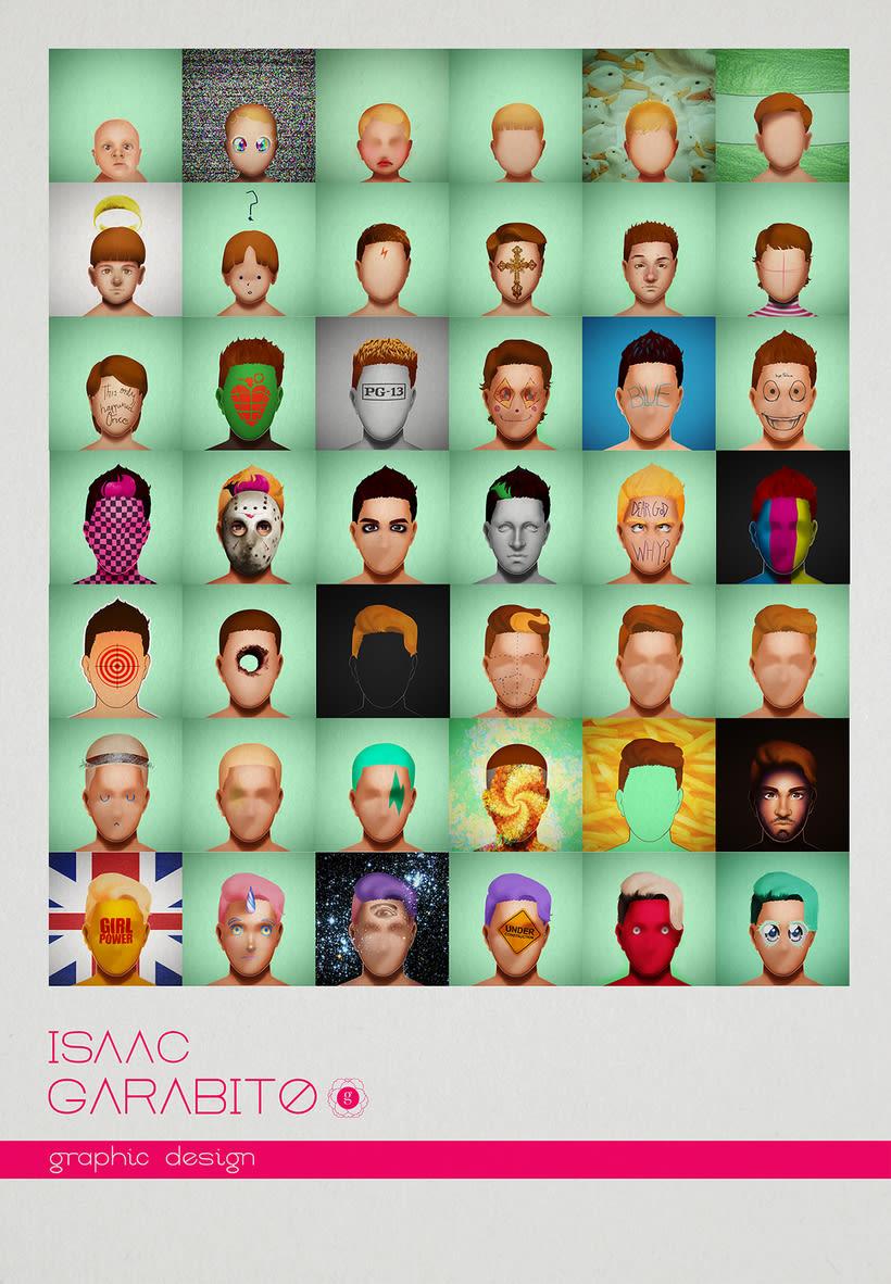 Isaac Garabito Graphic Design. 0