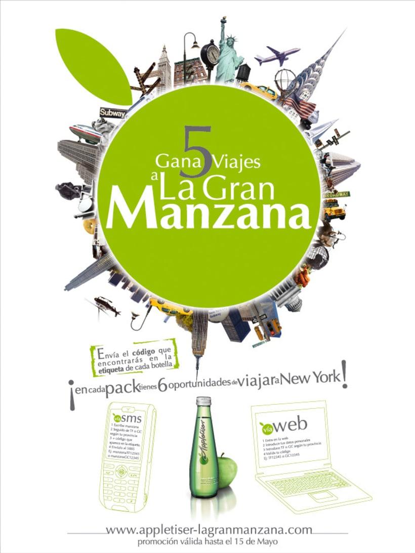 APPLETISER - VIAJA A LA GRAN MANZANA (2008) 0